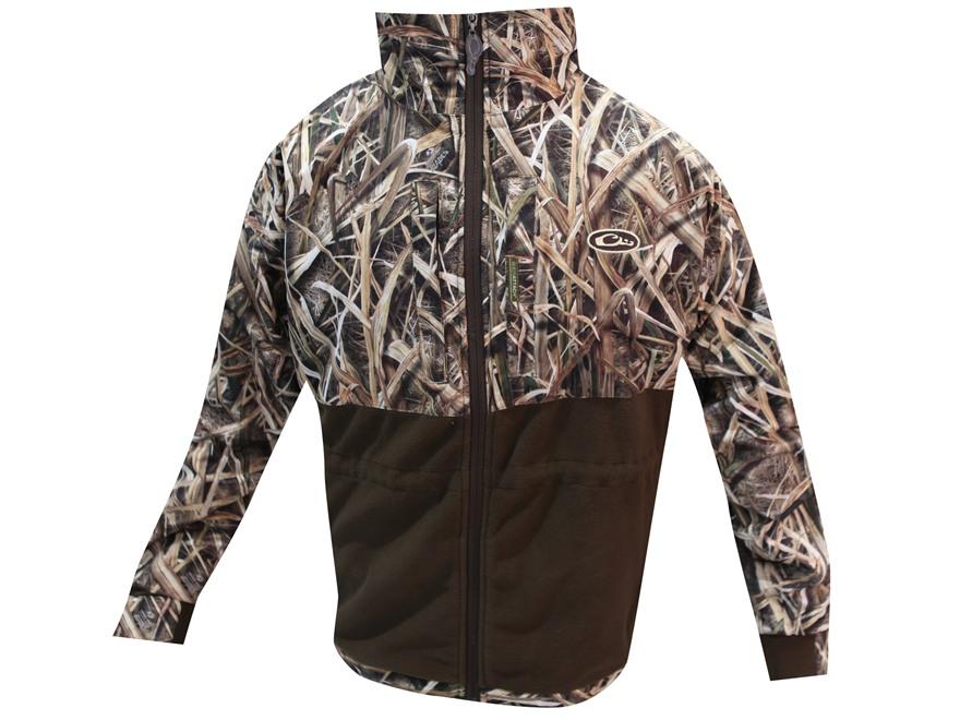 Drake Men's MST Eqwader Plus Full Zip Waterproof Jacket Polyester