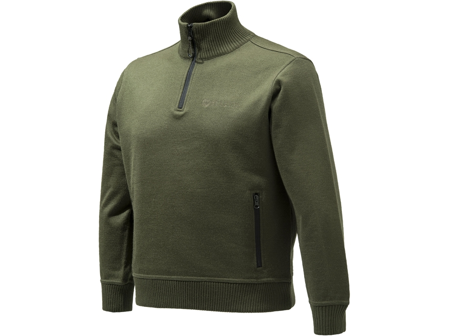 Beretta Men's Techno Windshield Half Zip Sweater Polyester