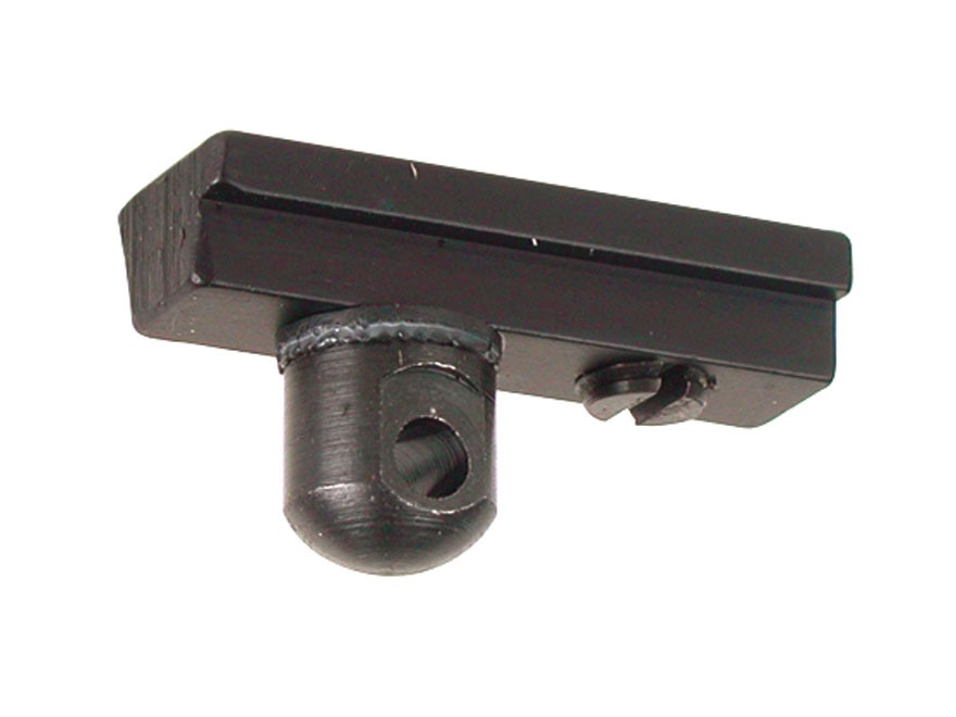 "Harris #6A Bipod Adapter Stud for American Rails 5/16"" Width Black"