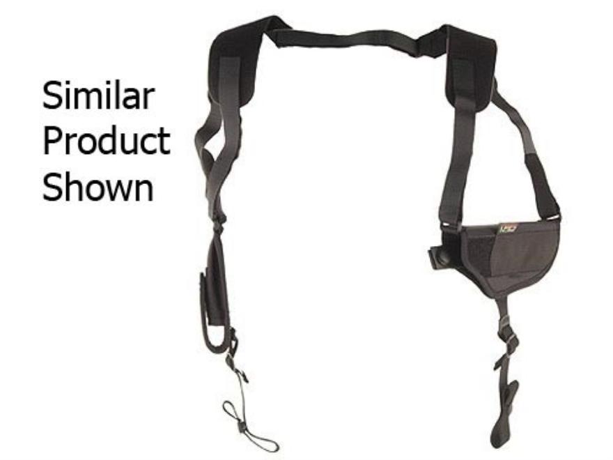 Uncle Mike's Pro-Pak Horizontal Shoulder Holster Ambidextrous Large Frame Semi-Automati...