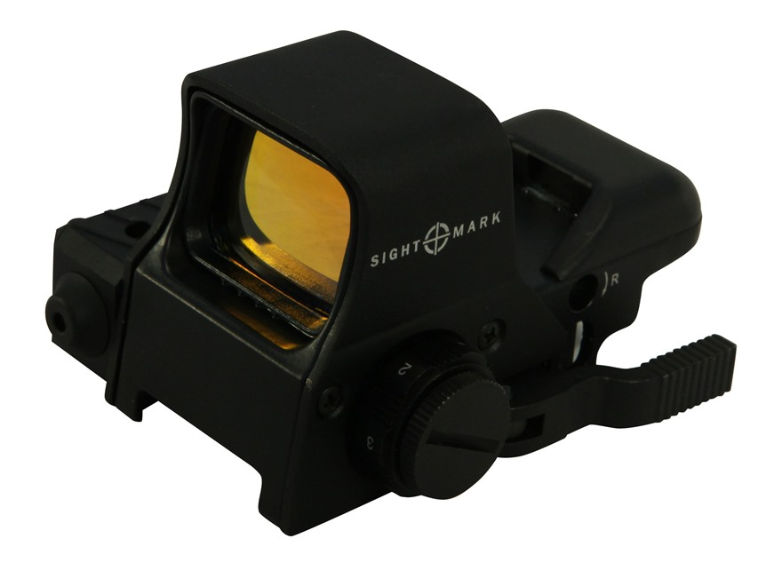 Sightmark Ultra Dual Shot Pro Spec Night Vision Red Dot Sight 1x Quick Detach 4 Pattern...