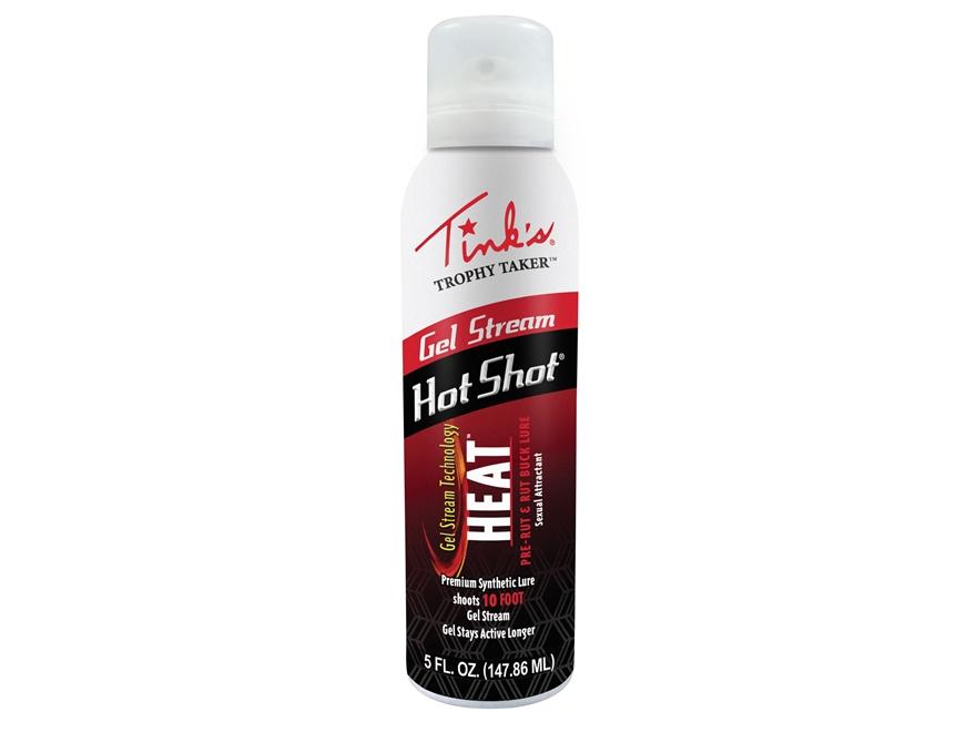 Tink's Trophy Taker Gel Stream Heat Synthetic Deer Scent 5 oz Aerosol