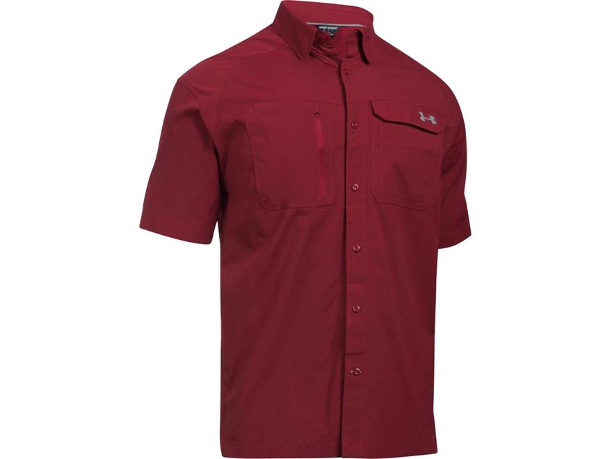 Under Armour Men 39 S Ua Fish Hunter Button Up Shirt Upc