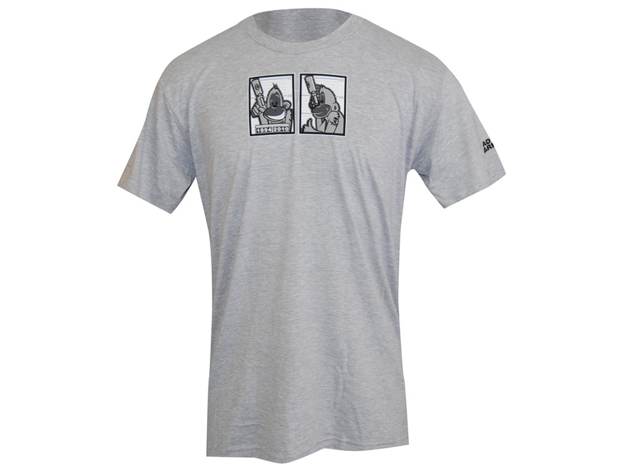 Advanced Armament Co (AAC) Mug Shot Monkey T-Shirt Short Sleeve Cotton Gray 3XL