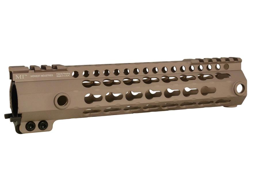Midwest Industries G3KL Series Free Float Lightweight Gen 3 KeyMod Handguard AR-15 Alum...