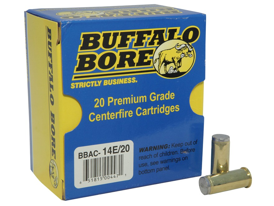 Buffalo Bore Ammunition 44 Special 200 Grain Hard Cast Lead Wadcutter Anti-Personnel Bo...