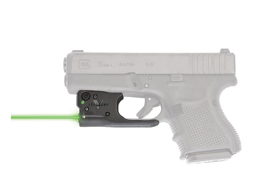 Viridian Reactor 5 Laser Sight Glock 26/27 Polymer Black with Hybrid Belt Holster