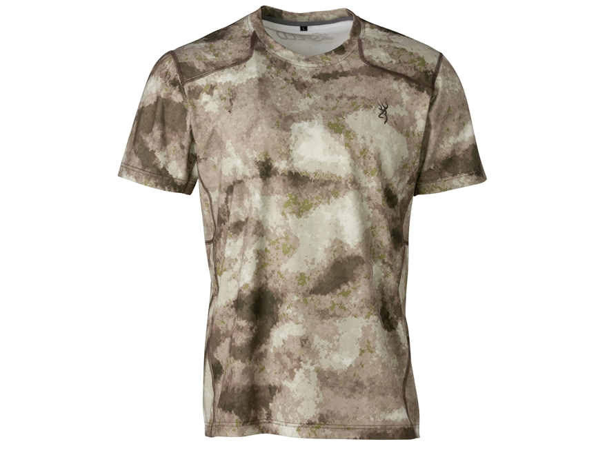 Browning Men's Hell's Canyon Speed Scent Control Plexus Mesh Shirt Short Sleeve Polyester