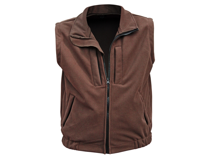 Natural Gear Men's Winter-Ceptor Fleece Vest Polyester
