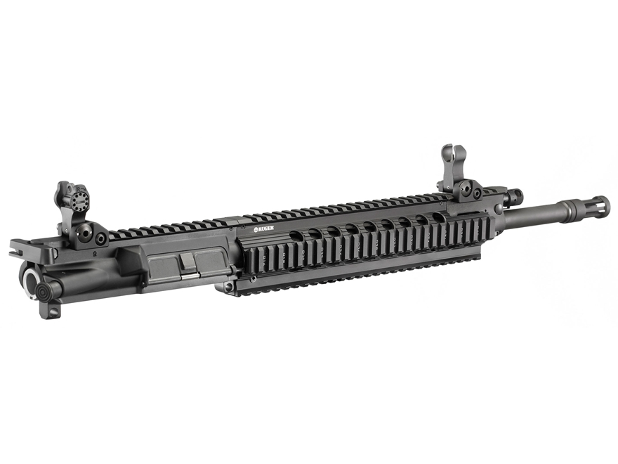 "Ruger AR-15 SR-556U Gas Piston Upper Receiver Assembly 6.8mm Remington SPC 16"" Barrel"