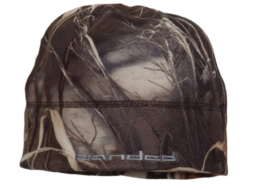 Banded Fleece Beanie Polyester Realtree Max-4 Camo
