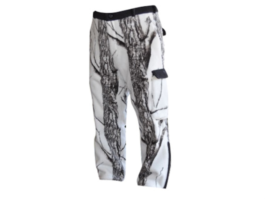 Stormkloth II Men's SKII Waterproof Fleece Pants Polyester Stormkloth Snowstorm Camo Me...