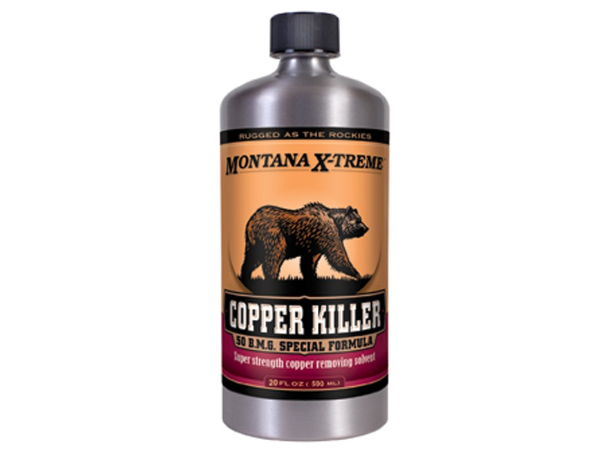 Montana X-Treme Copper Killer Bore Cleaning Solvent
