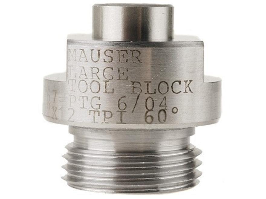 """PTG Bolt Face Truing Cutter Guide Mauser 1.10""""-12 Thread 60-Degree"""