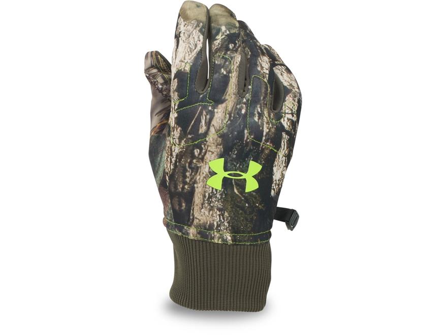 Under Armour Men's UA Scent Control Armour Fleece Gloves Polyester