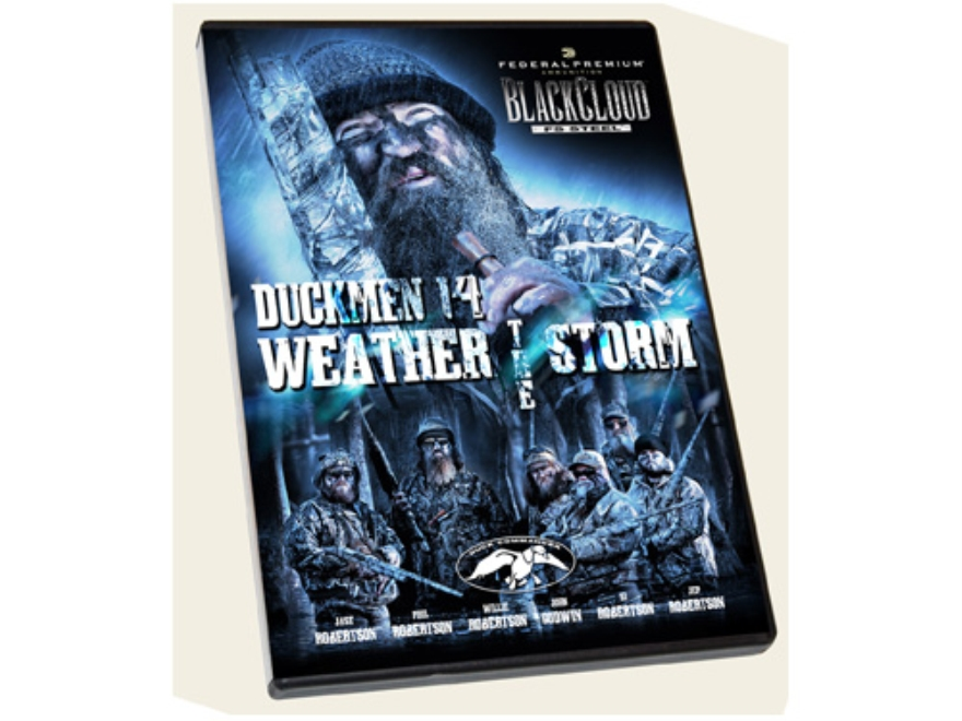"Duck Commander Duckmen 14 ""Weather the Storm"" Waterfowl Hunting DVD"