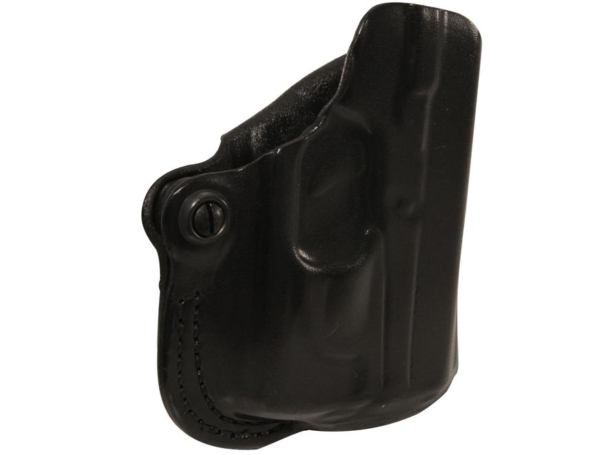 DeSantis Mini Scabbard Belt Holster Glock 42 with Lasermax CF-G42-LC Leather
