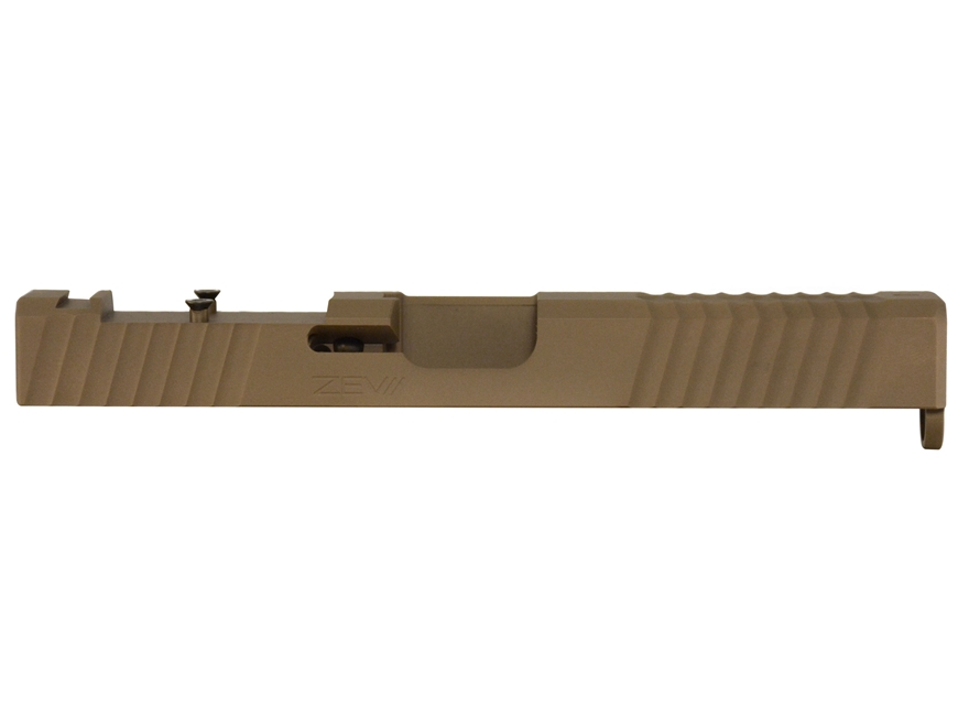 ZEV Technologies Trilobite Signature Slide with Trijicon RMR Red Dot Sight Cut Glock 17...