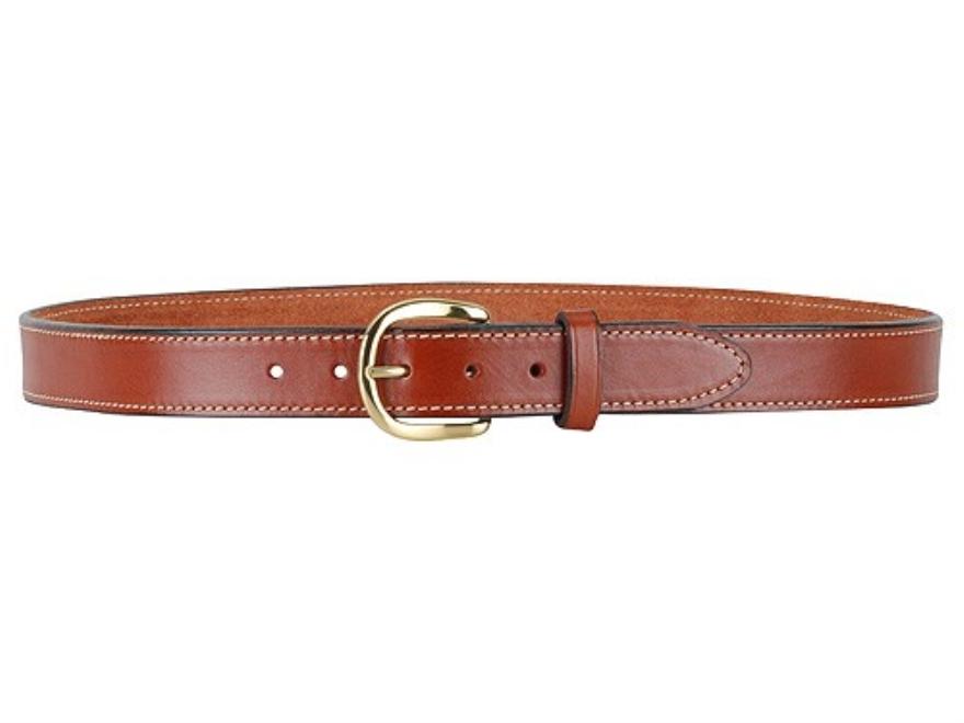 5802 pro hide belt 1 1 2 brass buckle leather brown 32