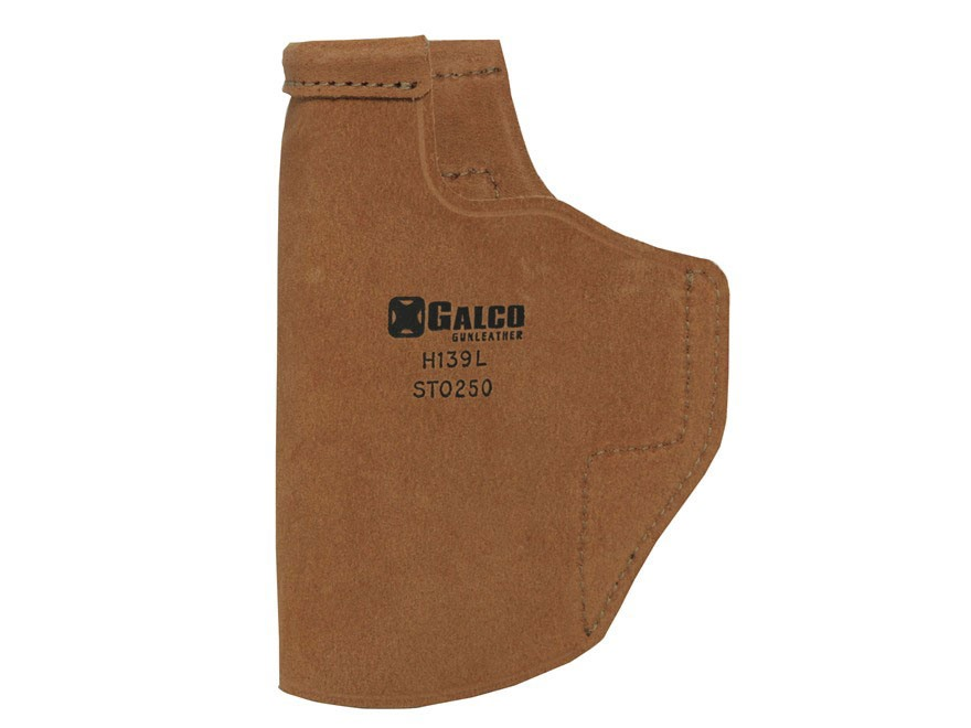 Galco Stow-N-Go Inside the Waistband Holster Right Hand S&W M&P Shield with Crimson Tra...