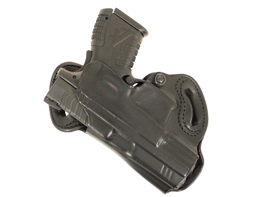 DeSantis Small of Back Belt Holster S&W M&P 9mm, 40 S&W, M&P Compact 45 ACP Leather