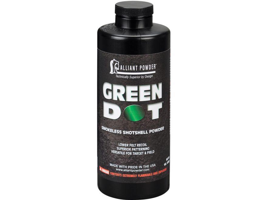Alliant Green Dot Smokeless Powder