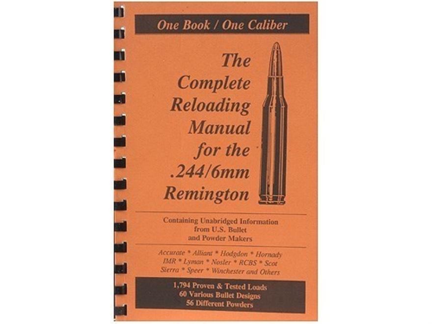 "Loadbooks USA ""6mm Remington"" Reloading Manual"