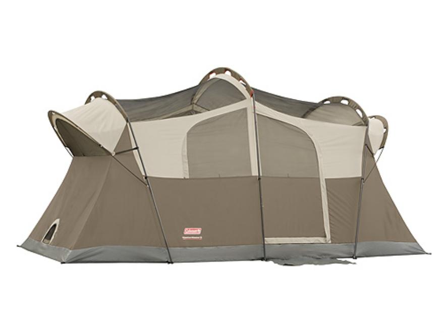 Coleman WeatherMaster 8 Man Cabin Tent 168  x 108  x 80  Polyester Gray  sc 1 st  MidwayUSA & Coleman WeatherMaster 8 Man Cabin Tent 168 x 108 x - UPC: 7650102181
