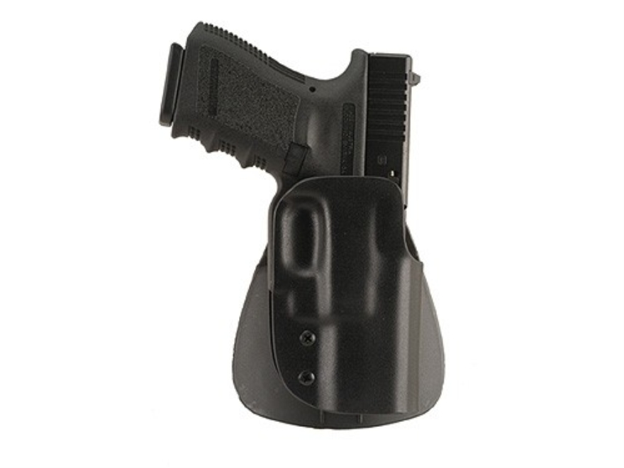 Blade-Tech 3 Position Paddle Holster Right Hand 1911 Commander Kydex Black