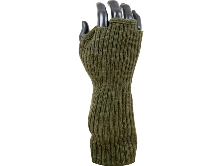 Military Surplus Dutch Fingerless Gloves Grade 2 Olive Drab