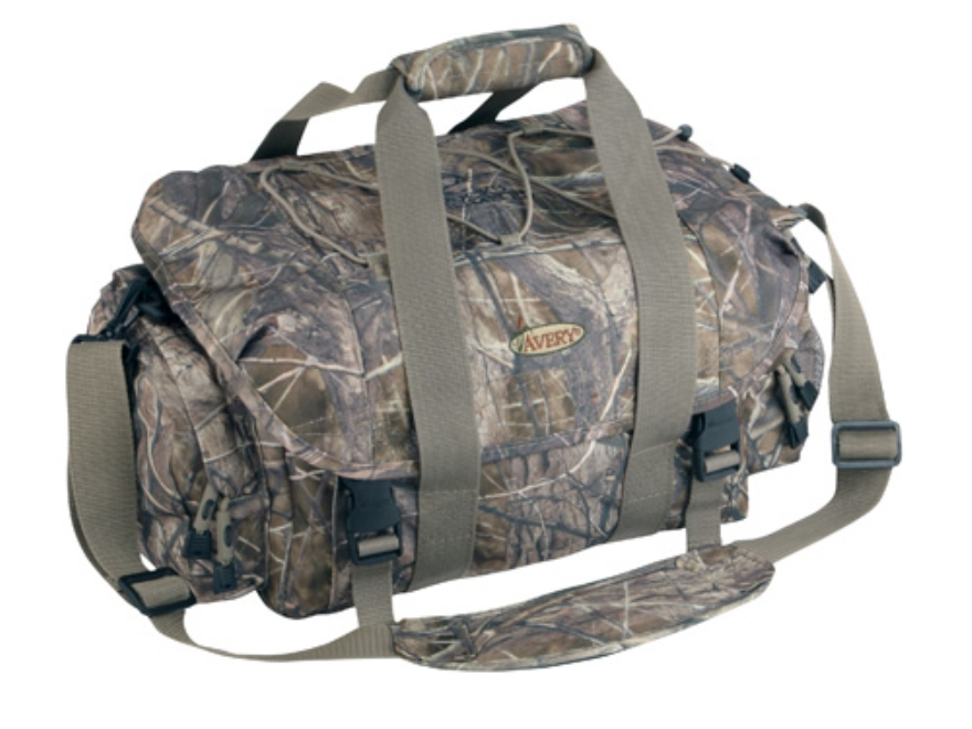 Avery Floating Blind Bag Nylon BuckBrush Camo