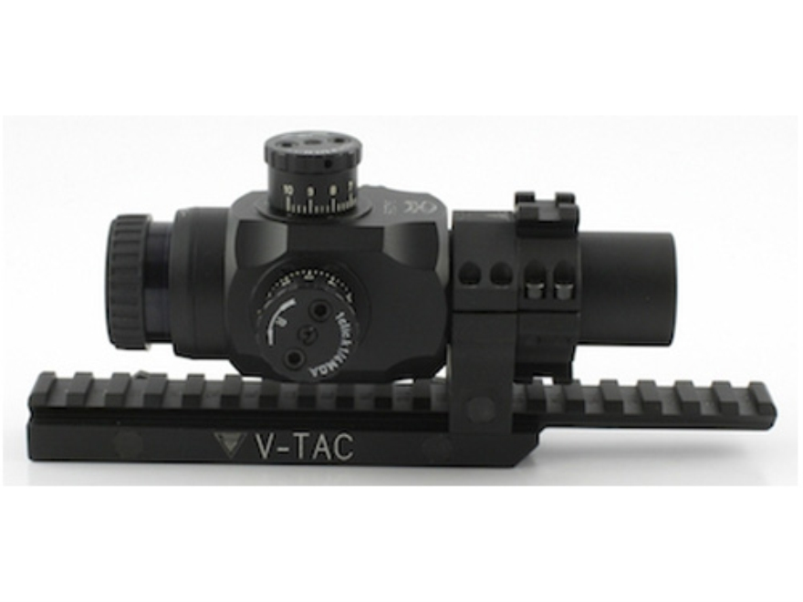 Valdada IOR Tactical Rifle Scope 30mm Tube 3x 25mm 223 BDC Turret Illuminated CQB Retic...