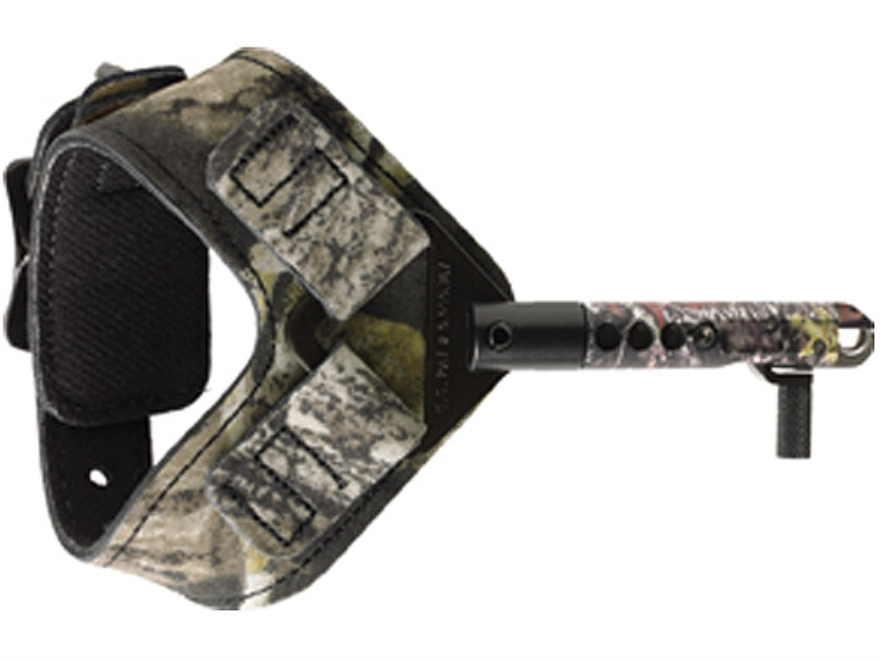 Scott Archery Wildcat Bow Release Buckle Wrist Strap Mossy Oak Break-Up Camo