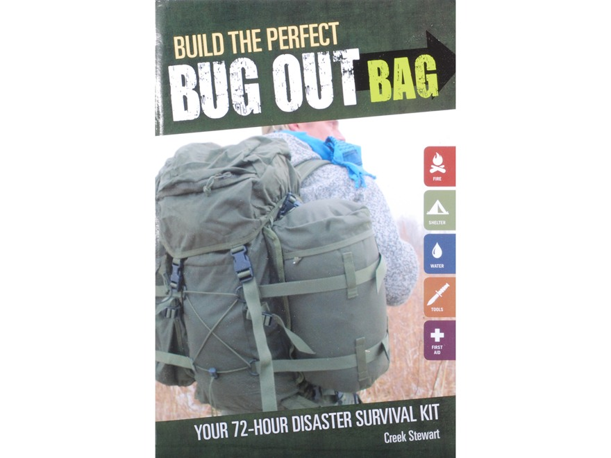 """Build The Perfect Bug Out Bag"" Book by Creek Stewart"