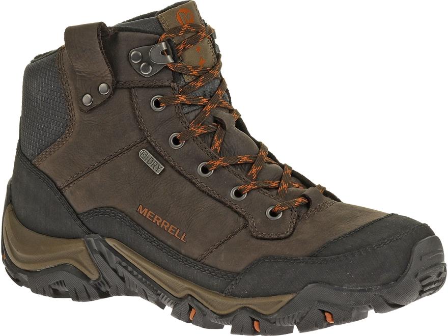 "Merrell Polarand Rove 5"" Waterproof 200 Gram Insulated Hiking Boots Leather Men's"