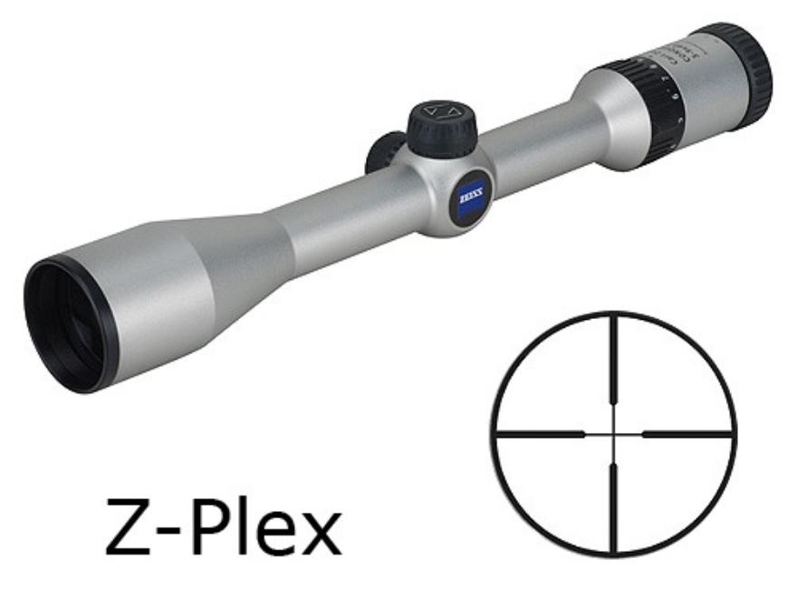 Zeiss MC Conquest Rifle Scope 3-9x 40mm Z-Plex Reticle Silver