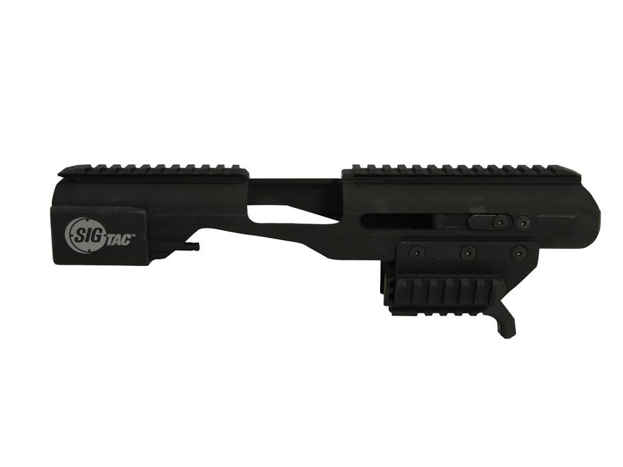 Sig Sauer Adaptive Carbine Platform with Universal Railed Pistol Adapter Aluminum Black