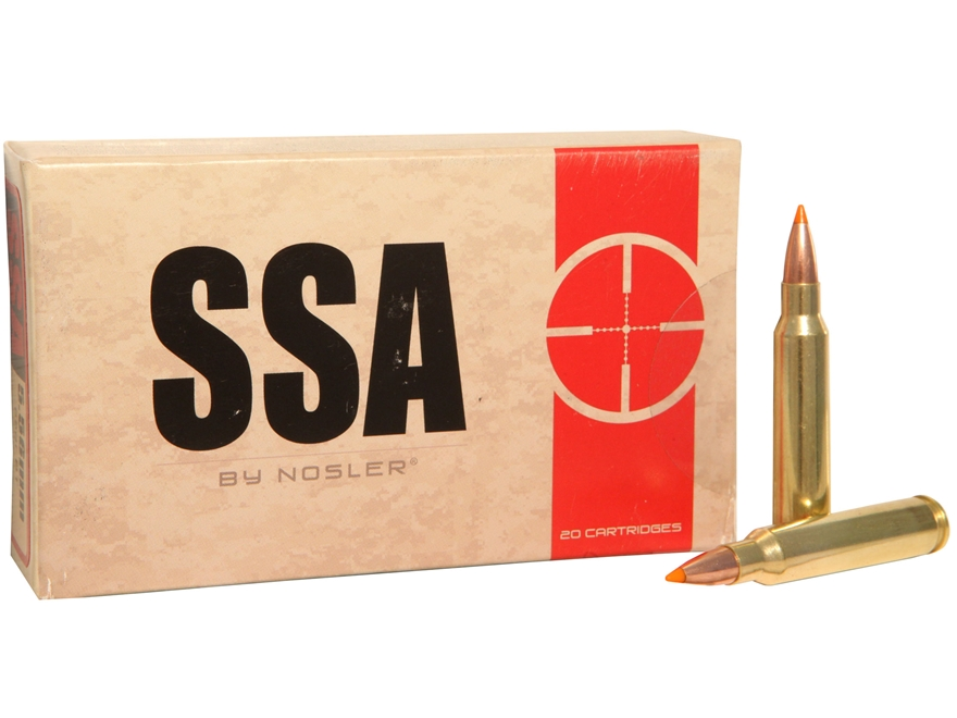 Silver State Armory Ammunition 5.56x45mm NATO 55 Grain Nosler Ballistic Tip Box of 20