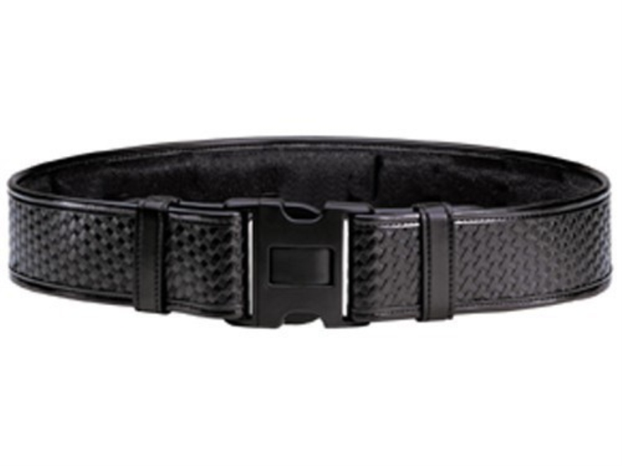 "Bianchi 7950 AccuMold Elite Duty Belt 2-1/4"" Polymer Buckle Trilaminate Basketweave Bla..."