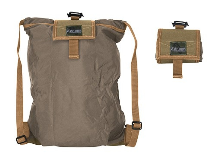 Maxpedition Rollypoly Collapsible Backpack Nylon Khaki