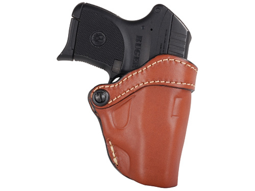 Hunter 1120 Pro-Hide Belt Open Top Concealment Holster Right Hand Ruger LCP Leather Che...
