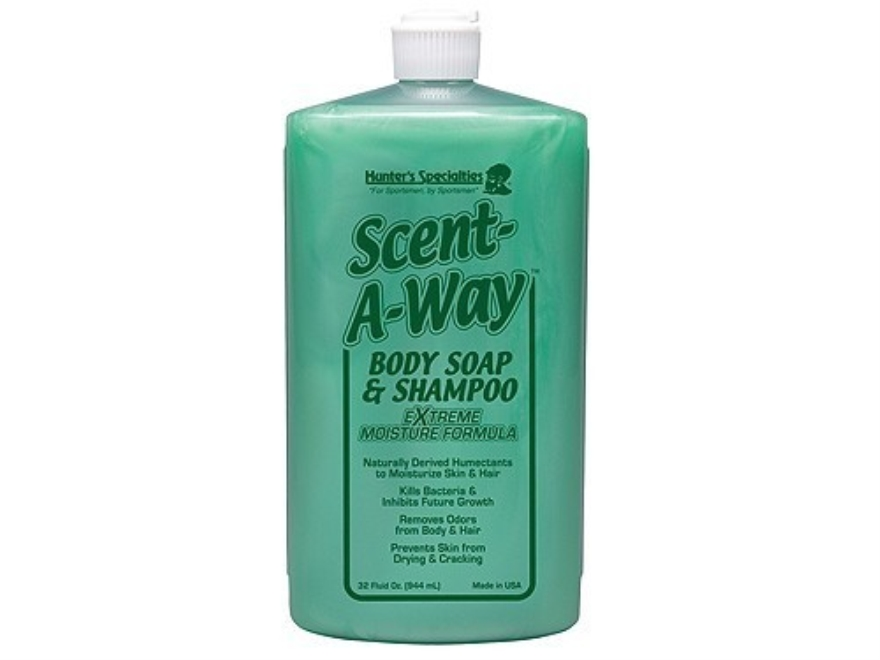 Hunter's Specialties Scent-A-Way Antibacterial Scent Elimination Soap Liquid 32 oz