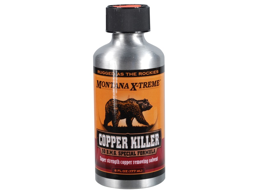 Montana X-Treme Copper Killer Bore Cleaning Solvent 20 oz Liquid