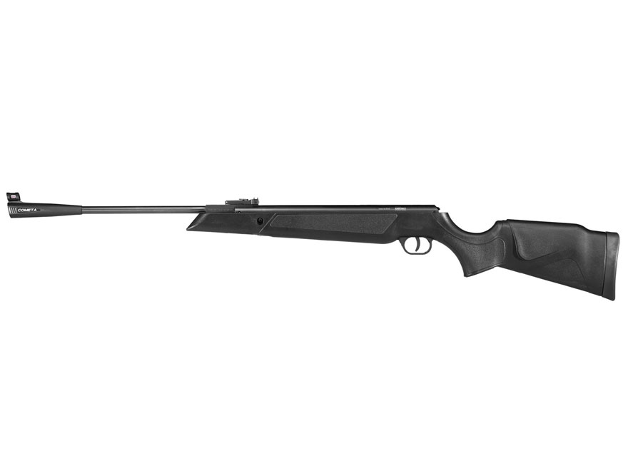 Airforce Model 94 Break Barrel Air Rifle 25 Caliber Pellet Black Synthetic Stock Blued ...