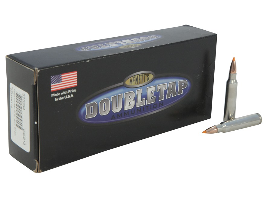 Doubletap Ammunition 223 Remington 55 Grain Nosler Ballistic Tip Box of 20
