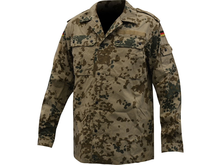 Military Surplus German Tropical Camo Field Shirt