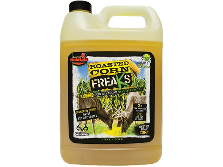 Evolved Habitats Roasted Corn Freaks Deer Attractant Liquid 1 Gallon