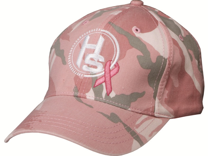 Hunter's Specialties Breast Cancer Awareness Cap Cotton Pink Camo