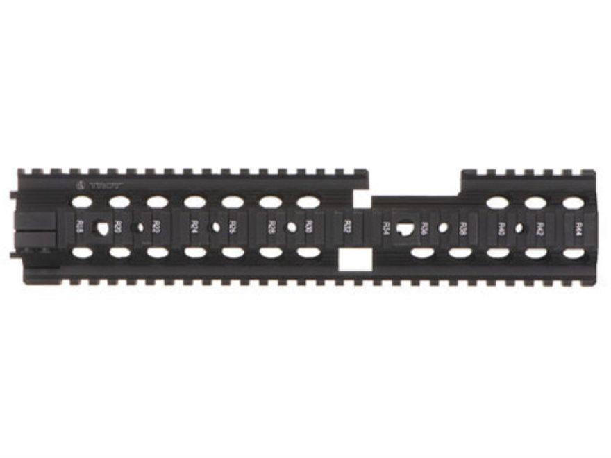 "Troy Industries 12"" MRF-CX Battle Rail Free Float Quad Rail Handguard AR-15 Extended Ca..."