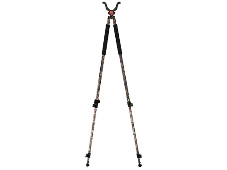 "Bog-Pod CLD-2 (Camo Legged Devil) Tall Bipod Shooting Sticks 22"" to 68"" Swivel Head All..."